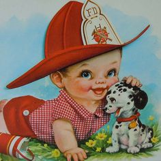images of vintage baby,s first birthday card | Flickr: The Big Eye Art - Vintage and Retro Pool