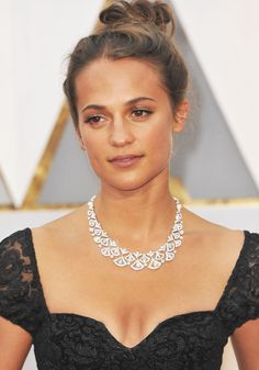 Alicia Vikander at the 89th annual Academy Awards held at the Dolby Theatre at the Hollywood & Highland Center in Los Angeles on February 26, 2017.