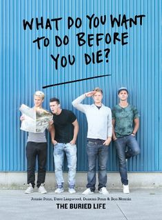 Bestseller Books Online What Do You Want to Do Before You Die? The Buried Life, Ben Nemtin, Dave Lingwood, Duncan Penn, Jonnie Penn $11.15  - http://www.ebooknetworking.net/books_detail-1579654762.html