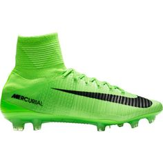 sports shoes ad602 c2b8a Nike Men s Mercurial Superfly V FG Soccer Cleats, Green Soccer Cleats,  Soccer Ball,
