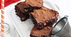 Gluten-free needn't mean free of flavour. No-one should live without chocolate brownies!
