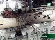 mecca crane accident - Google Search