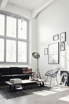 Home's interior.