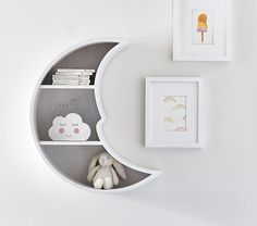 Find baby nursery ideas and inspiration at Pottery Barn Kids. Discover our gender neutral nursery ideas and themes that are perfect for any expecting mom. Clouds Nursery, Star Nursery, Baby Nursery Decor, Baby Decor, Moon Nursery, Galaxy Nursery, Baby Ideas For Nursery, Baby Room Ideas For Boys, Nursery Room Ideas