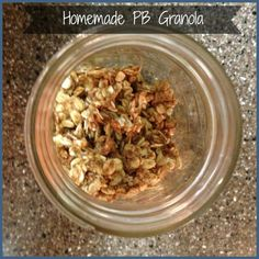 PB granola 21 day fix approved