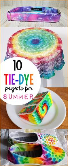10 Tie Dye Projects