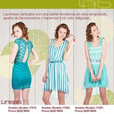 Líneas verticales. #Lineas #outfit #moda #tendencia #2014 #ropa #prendas #lineasverticales #azul