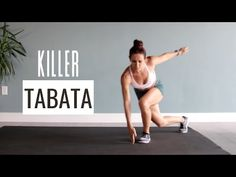 90 Day Workout Plan, Hiit Workout At Home, Tabata Workouts, Workout Videos, Hiit Program, Youtube Workout, Killer Workouts, Best Cardio, Workout For Beginners