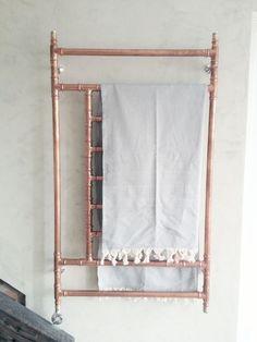 copper towel heater