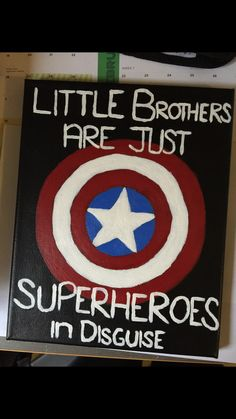 #superhero #littlebrothers