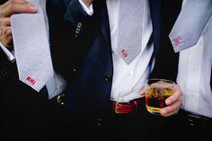 custom embroidered ties