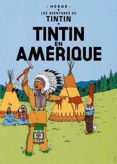 Tintin en Amérique, 1932