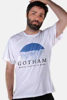 Eu recomendo Camiseta Masculina Gotham Umbrella via Myreks