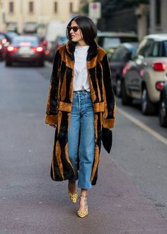 The Best Street-Style Looks from Milan Fashion Week Fall 2017 #RueNow