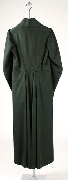 Overcoat 1825-1830 back