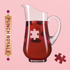 To make Punch Royale, pour fizz, cranberry juice and Chambord into a large pitcher. Stir and garnish with raspberries or blackberries.