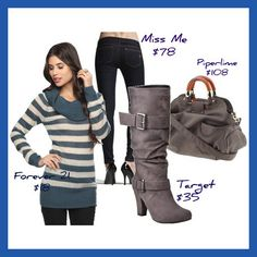 Love this for a casual winter day