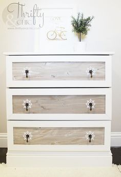Ikea Tarva Dresser Makeover Ikea Tarva Dresser Makeover Katilyn B. katilyncb Master Bedroom Thrifty and Chic &; DIY Projects and Home Decor. Would use […] drawer dresser makeover Old Dresser Makeovers, Old Dressers, Furniture Makeover, Dresser Ideas, Painted Dressers, Chair Makeover, Furniture Refinishing, Ikea Makeover, Bedroom Dressers