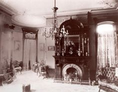 1890 Home Interiors | House, Cortland, New York. Photograph, 1890-1900. The 1890 House ...