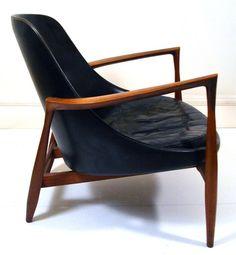 RARE 1950s Danish Elisabeth Chair IB Kofod Larsen Retro Eames Wegner Finn Juhl | eBay