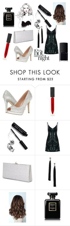 """Untitled #47"" by jaymoon4241 ❤ liked on Polyvore featuring Pink Paradox London, Burberry, Bobbi Brown Cosmetics, Jimmy Choo, Miss Selfridge, Chanel and NARS Cosmetics"