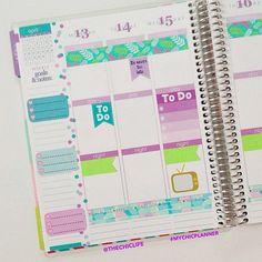 Planner Decoration Ideas: April 2015 (Erin Condren Vertical)