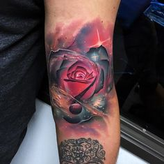 Cosmic rose by Andres Acosta