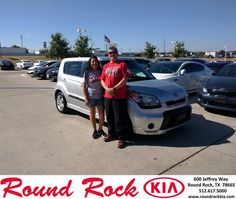 https://flic.kr/p/zGEy1o | Round Rock KIA Austin Area Customer Reviews Texas Car Dealer Reviews -Gloria Salazar | GREG WAS AWESOME . I GOT A GREAT DEAL ON A CERTIFIED KIA SOUL AND IT FITS MY BUDGET.- SALAZAR GLORIA , Thursday 10/15/2015  www.roundrockkia.com/?utm_source=Flickr&utm_medium=DM...