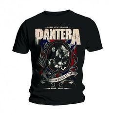 Tricou Pantera: Anniversary Shield