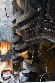 St Louis City Museum  # 7 storey slide  #