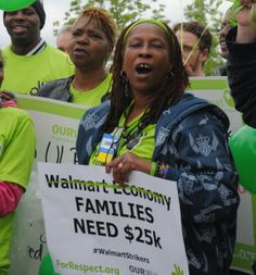 Walmart Associate: 'Give The Workers Dignity And Respect That We Deserve'