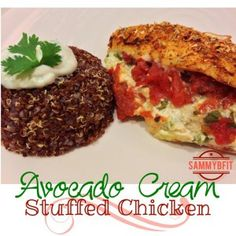 Avocado Cream Stuffed Chicken Recipe on Yummly