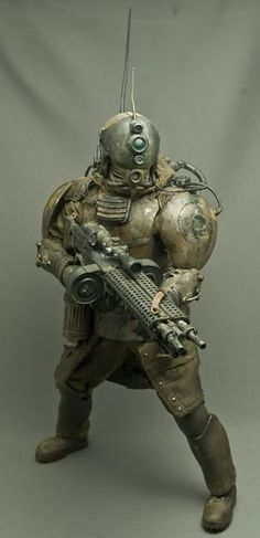 Steampunk 1/6 scale action figures | Scale Model | Pinterest