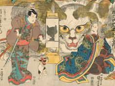 """Exhibitions - """"Life of Cats: Selections from the Hiraki Ukiyo-e Collection"""" - Art in America"""
