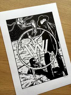 Westworld HBO fan art.  www.facebook.com/palmikdesign