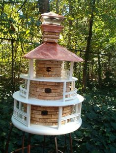 Now this is a birdhouse.