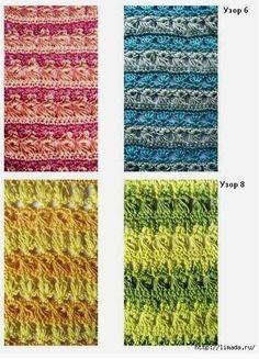 Patrones de puntos crochet