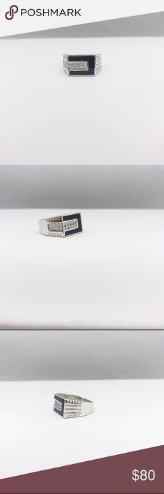 Black Onyx Ring Black Onyx Ring. Materials: 925 Silver // Black Onyx Accessories Jewelry