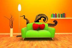 Octopus Tentacle Wall Art