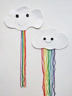 Papirsky med garnregnbue – Hva skal vi lage Snoopy, Paper, Character, Art, Art Background, Kunst, Performing Arts, Lettering, Art Education Resources