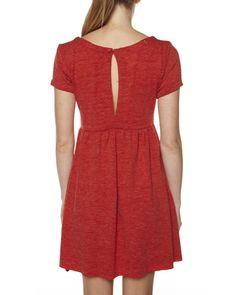 SURFSTITCH - WOMENS - DRESSES - CASUAL DRESSES - JUST ADD SUGAR WINTER DRESS - RED