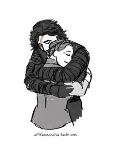 """by Art of Emmanation artofemmanation I was listening to the Eurythmics last night (""""The Miracle of Love""""), and well, this is the result: various shots of Kylo Ren being forgiven and welcomed back into the fold.  Because I want my happy ending, dammit. Leia and Ben united"""