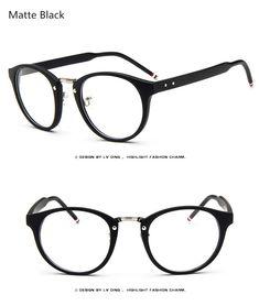 7fa6023fc9f Brand Female Grade Glasses Frame Women Myopia Eye Glasses Frame Men Optical  Glasses Vintage Round Eyeglasses