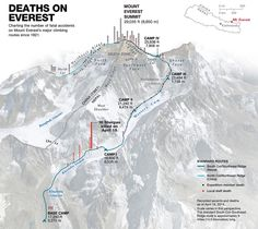 Sixteen Sherpas were killed in an April 18 avalanche in the deadliest single day on Everest, but there's a long history of fatalities on the mountain.