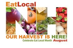 August is NH Eat Local Month - Monadnock Food Co-op