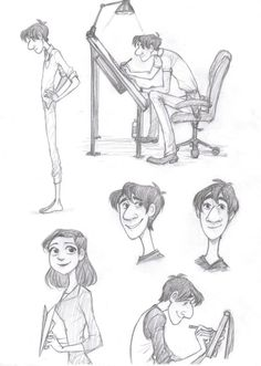 The Paperman in his trade by ~Bonka-chan on deviantART