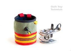 Chalk Bag #Climbing Gear. Rock Climbing gifts. Chalkbag