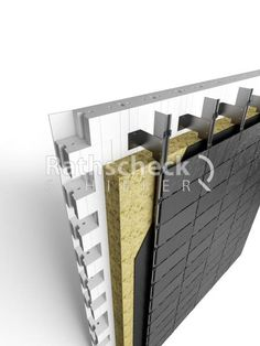 Isolation Facade, Siding Options, House Cladding, Cladding Systems, Construction, Building Systems, Wall Insulation, Architecture Details, Building A House