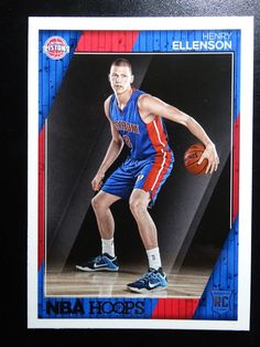 2016-17 Panini Hoops #275 Henry Ellenson Detroit Pistons Rookie Basketball Card #DetroitPistons