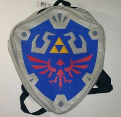 Win a Legend of Zelda Hylian Shield Backpack!